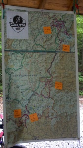 Cohutta 100 Course Map