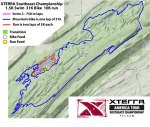 2013 XTERRA Southeat Championship course map