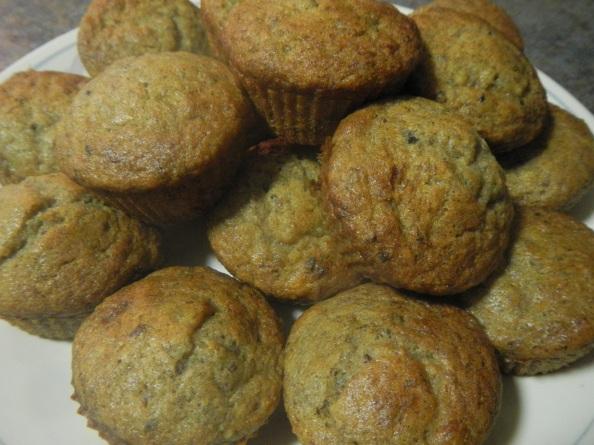Tasty Banana-Cacao Muffins
